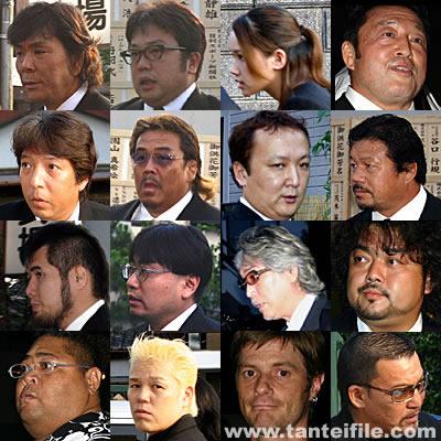 11日、脳幹出血のため亡くなった橋本真也さん(享年40)の通夜が横浜市内の斎場で行われ、彼の死を悼むファンや著名人が大勢訪れた。 その数、約2千名。