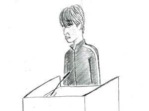 ジャージ姿で法廷に現れた被告人 ジャージ姿で法廷に現れた被告人へ、弁護人からの質問。 弁護人 な